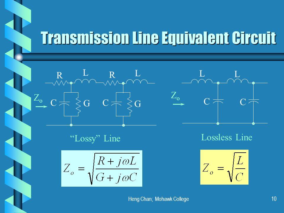 Transmission Line Equivalent Circuit