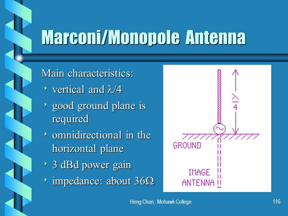 Marconi/Monopole Antenna