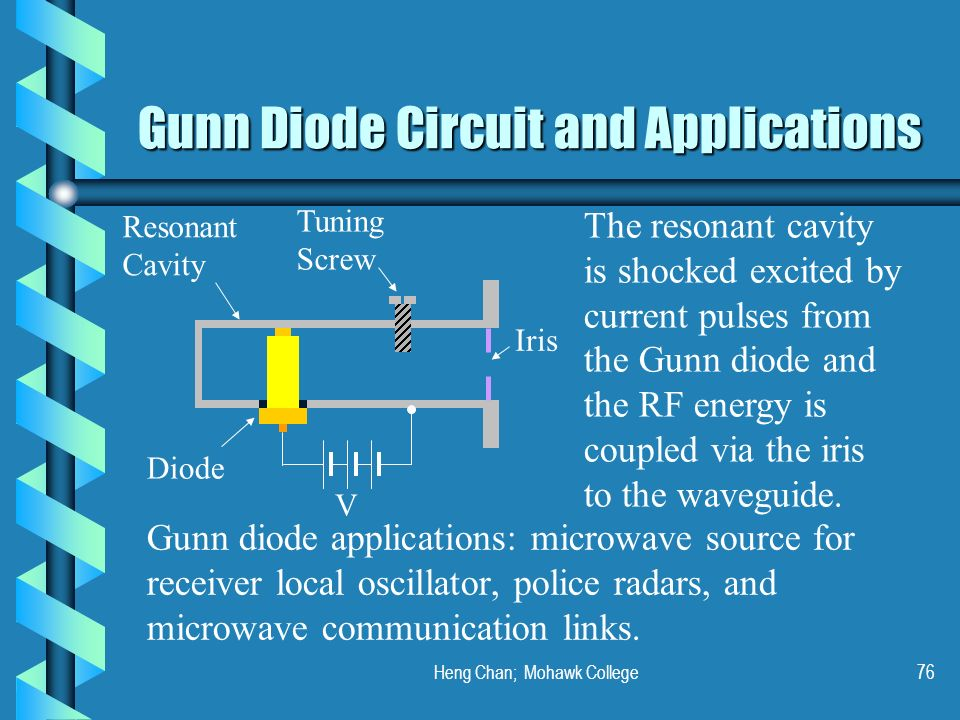 diode and its application Introduction diodes are one of the simplest, but most useful of all semiconductor devices many types of diode are used for a wide range of applications.