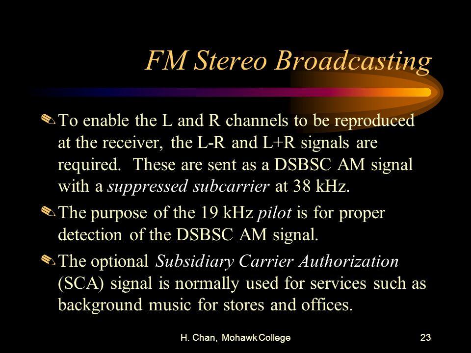 FM Stereo Broadcasting