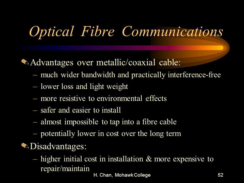 Optical Fibre Communications