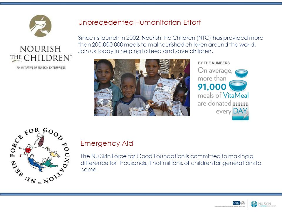 Unprecedented Humanitarian Effort