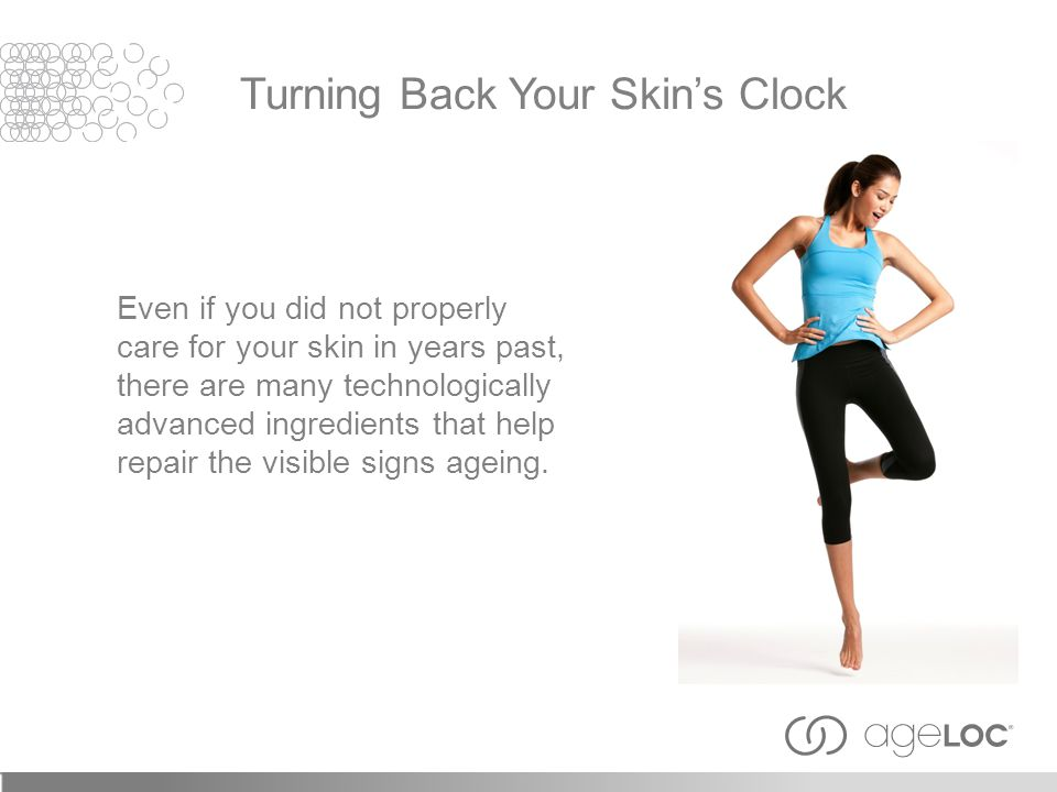 Turning Back Your Skin's Clock