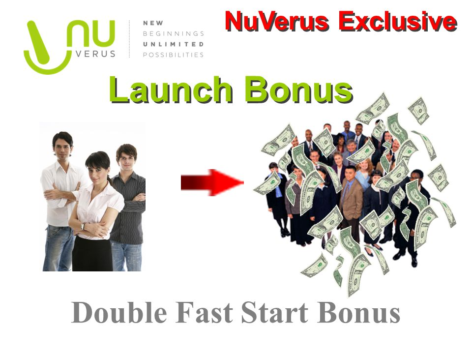 Double Fast Start Bonus