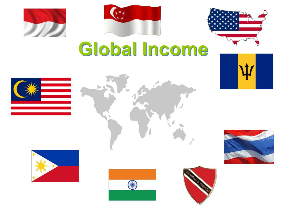 Global Income International Marketing Director Pool; 2.5%