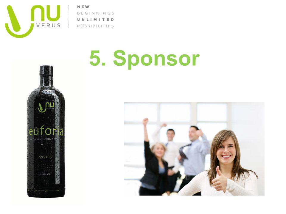 5. Sponsor