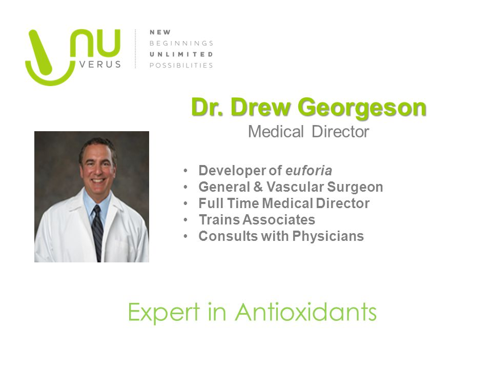 Expert in Antioxidants