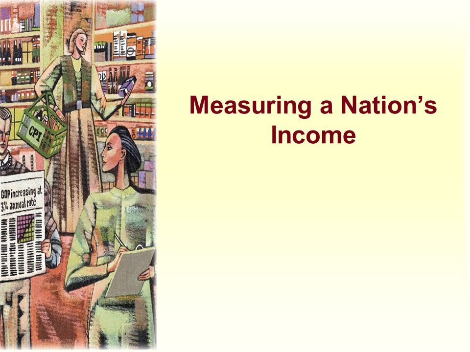Measuring a Nation's Income