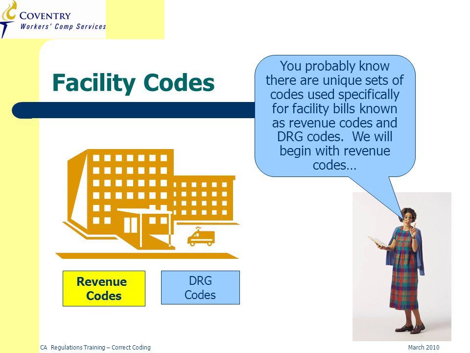 Facility Codes