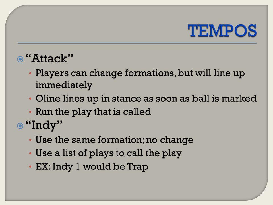 TEMPOS Attack Indy