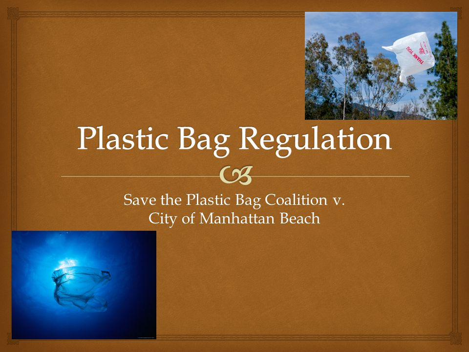 Plastic Bag Regulation