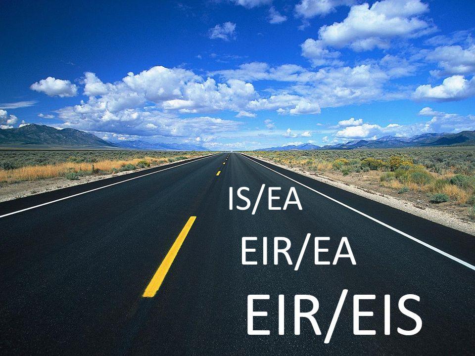 EIR/EIS EIR/EA IS/EA Joint EIR/EIS