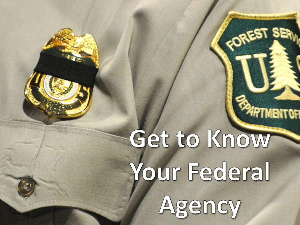 Get to Know Your Federal Agency