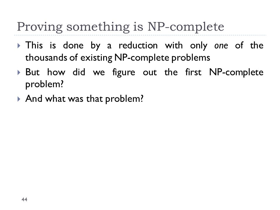 Proving something is NP-complete