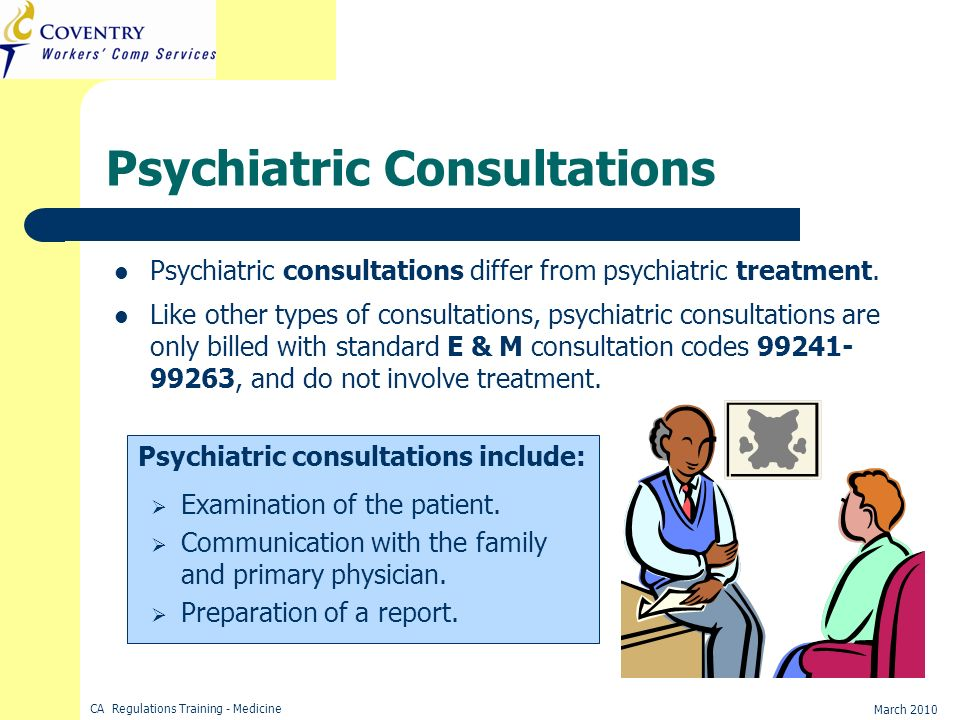 Psychiatric Consultations