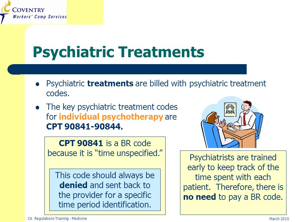 Psychiatric Treatments