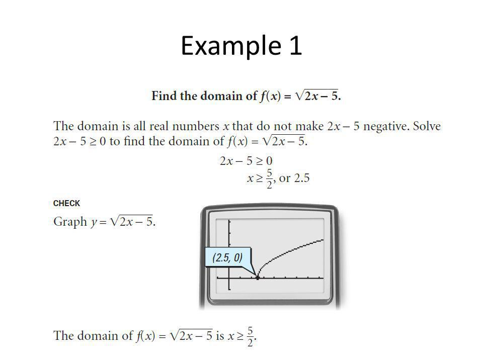 Radical expressions and radical functions ppt video online download 6 example 1 ccuart Gallery