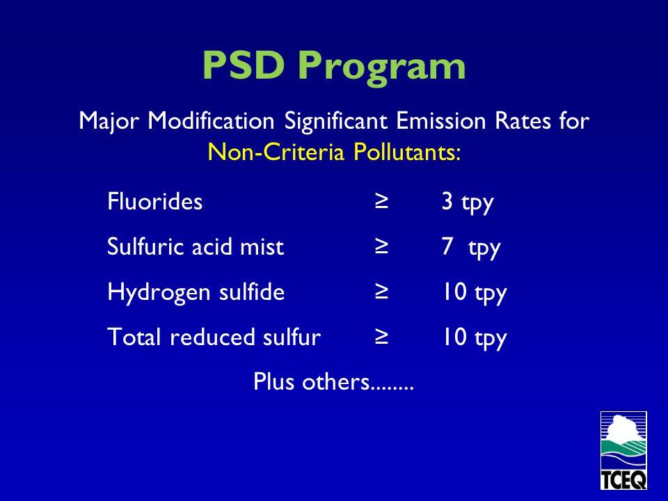 PSD Program