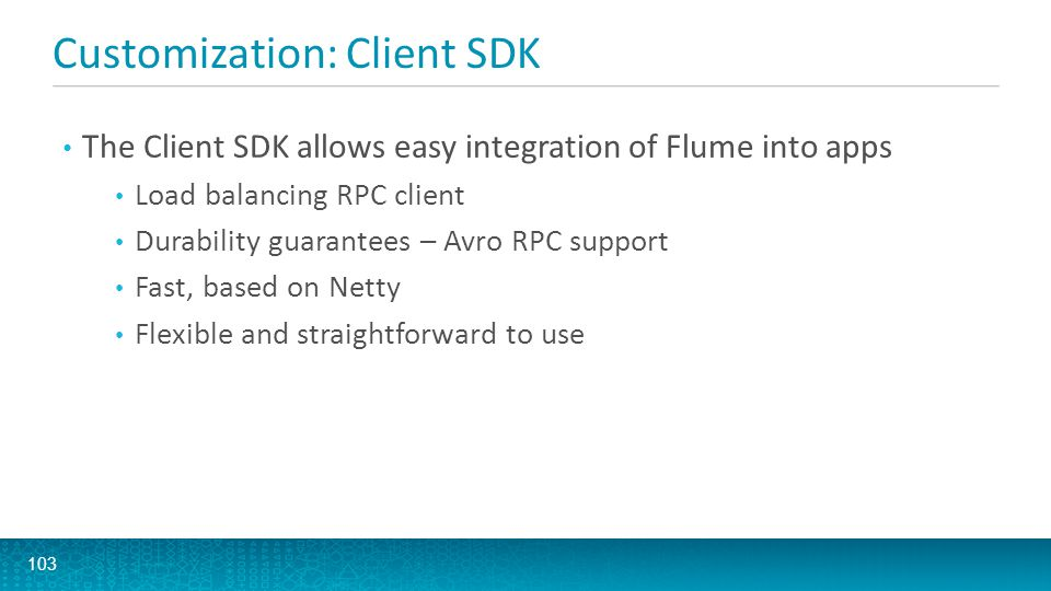 Customization: Client SDK
