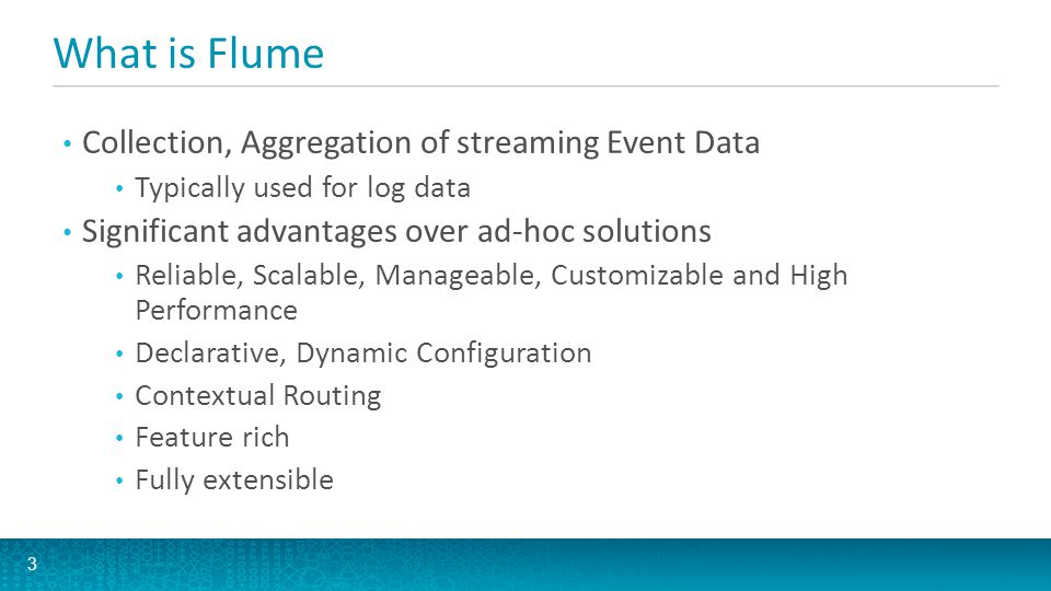 What is Flume Collection, Aggregation of streaming Event Data