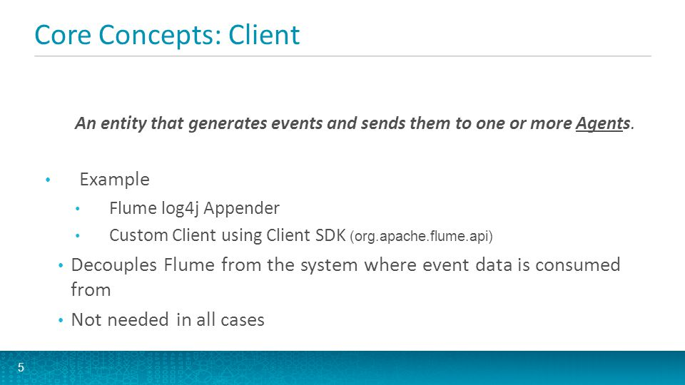 Core Concepts: Client Example