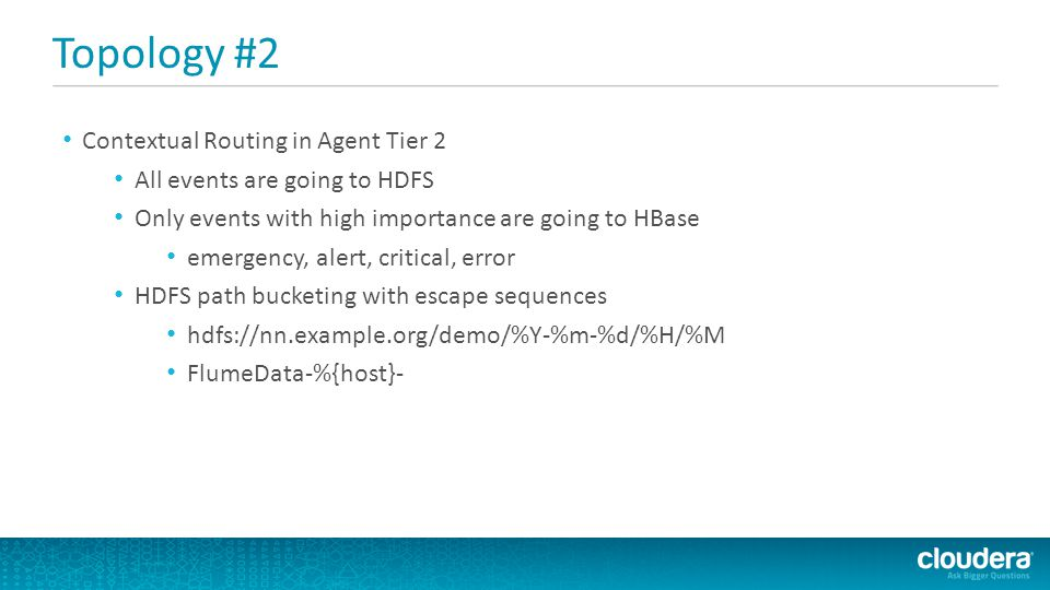 Topology #2 Contextual Routing in Agent Tier 2