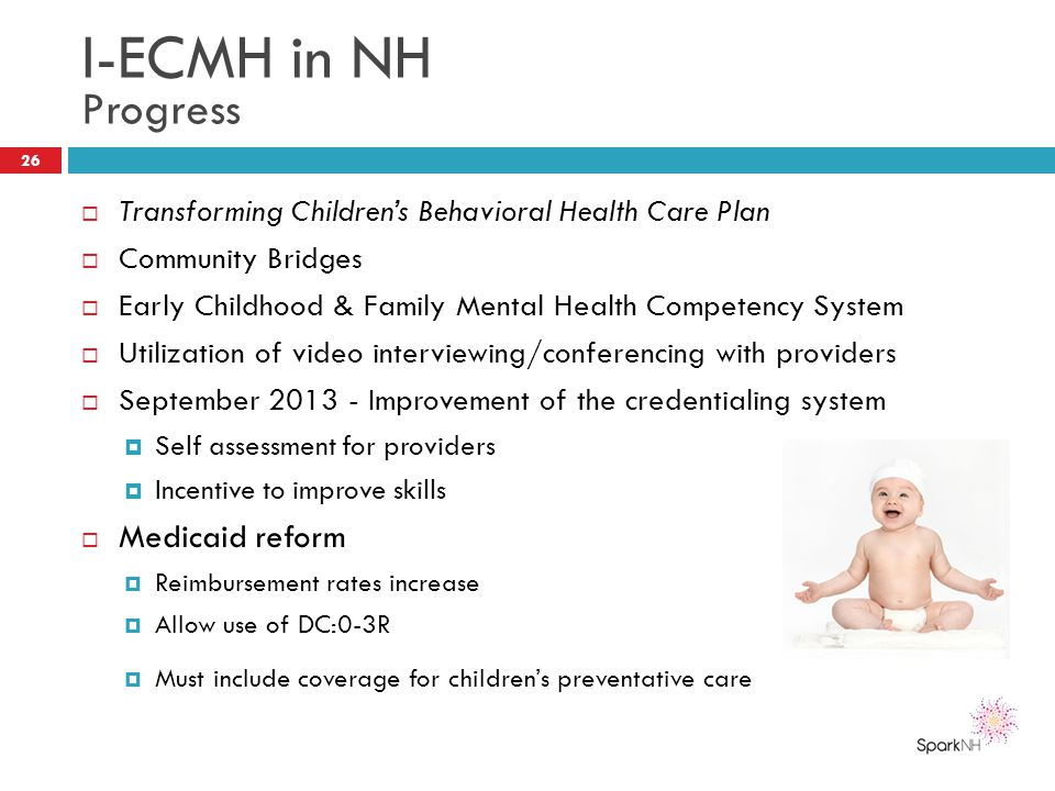 I-ECMH in NH Progress Medicaid reform
