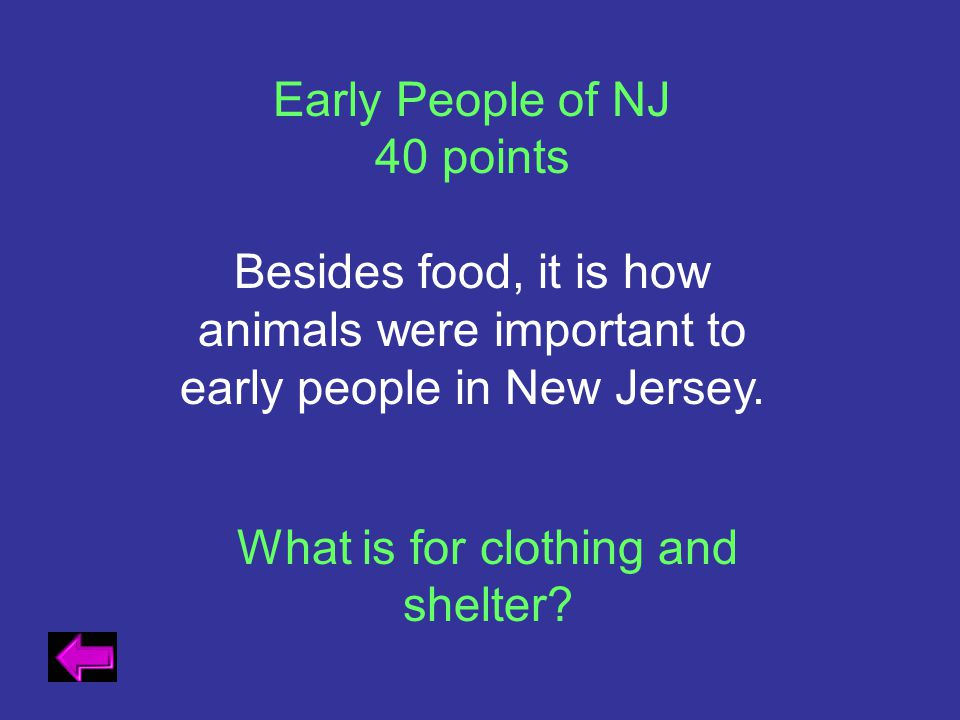 What is for clothing and shelter