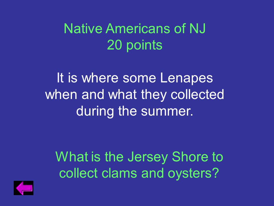 What is the Jersey Shore to collect clams and oysters