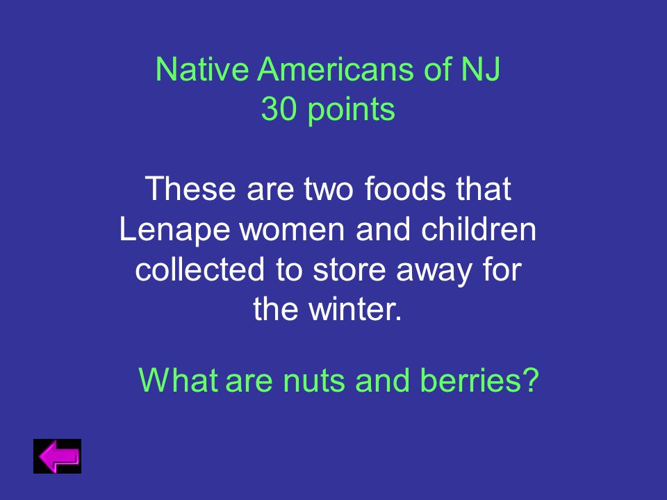 What are nuts and berries