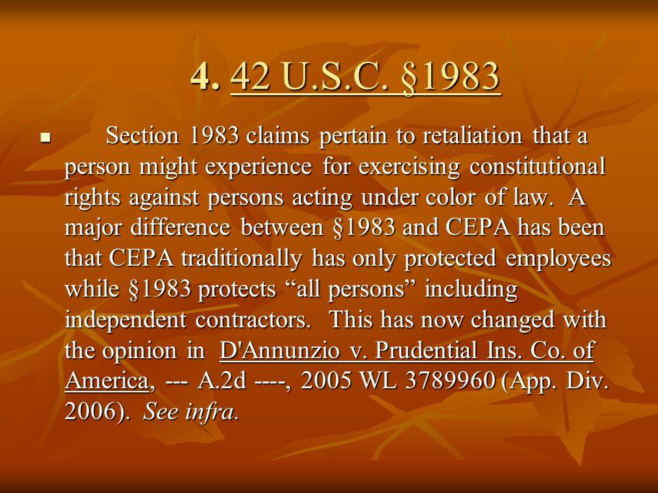 4. 42 U.S.C. §1983