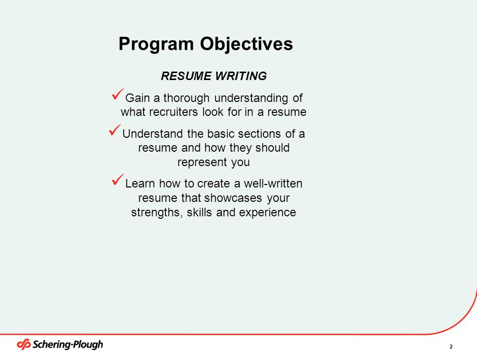 Gain a thorough understanding of what recruiters look for in a resume