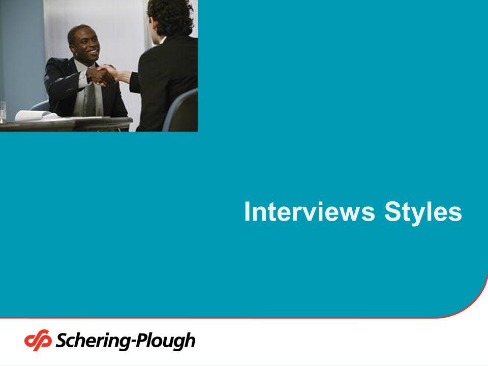 4/6/2017 Interviews Styles