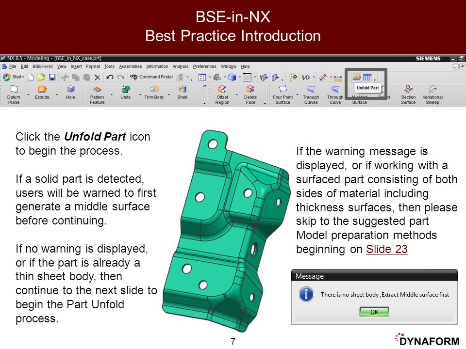 BSE-in-NX Best Practice Introduction
