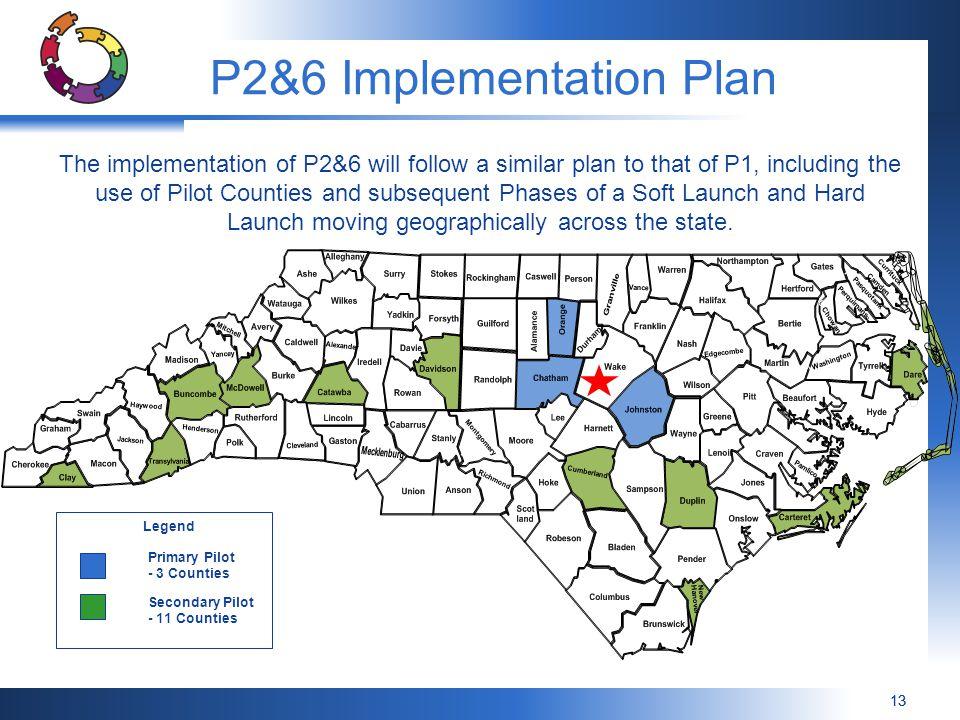P2&6 Implementation Plan
