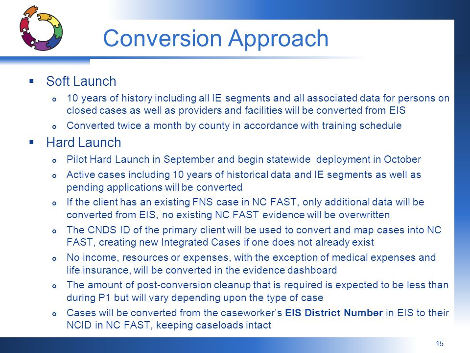 Conversion Approach Soft Launch Hard Launch