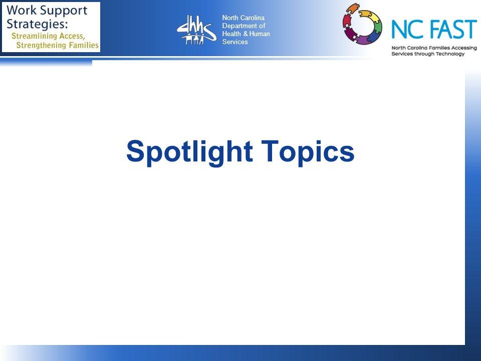 Spotlight Topics