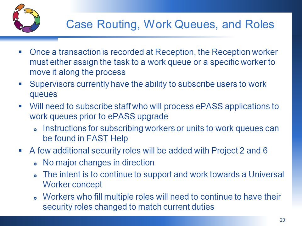 Case Routing, Work Queues, and Roles