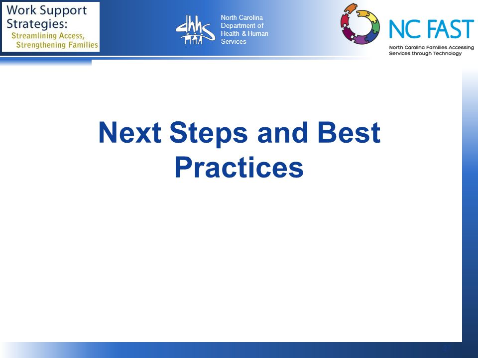 Next Steps and Best Practices
