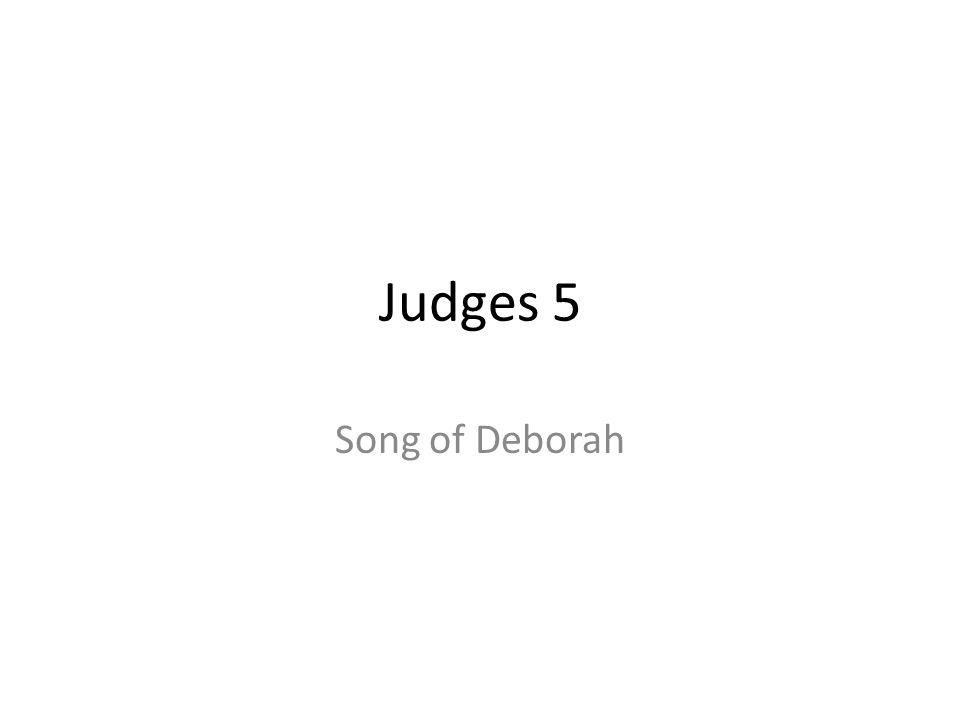 Judges 5 Song of Deborah 178