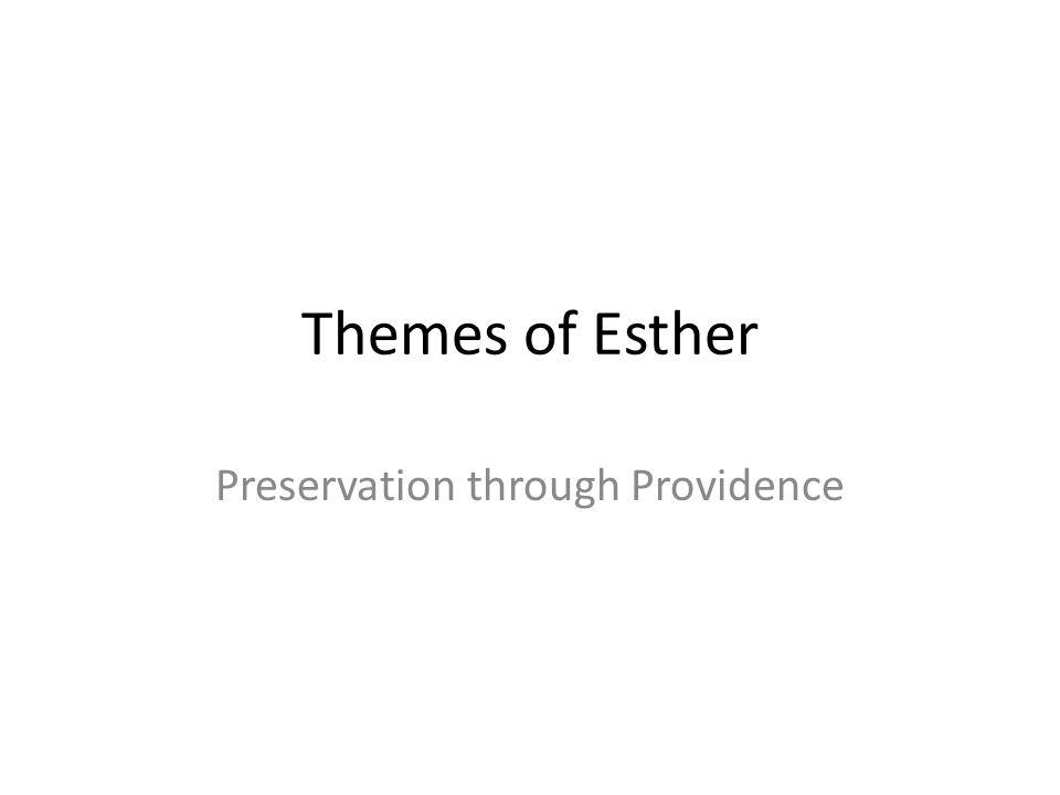 Preservation through Providence