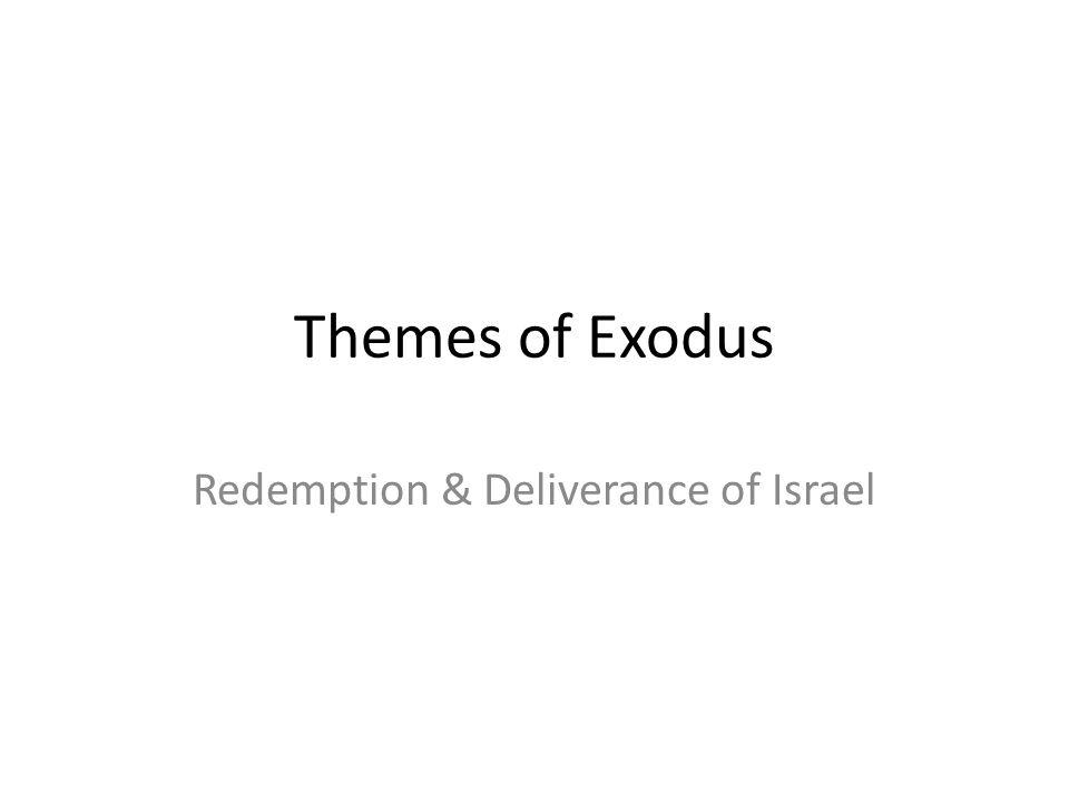 Redemption & Deliverance of Israel
