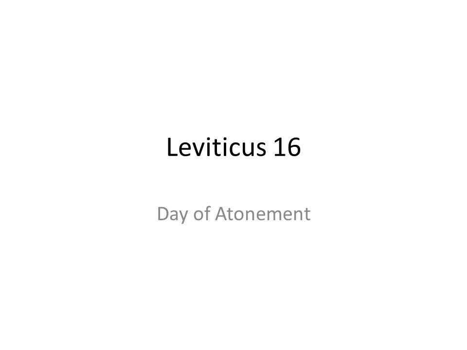 Leviticus 16 Day of Atonement 350
