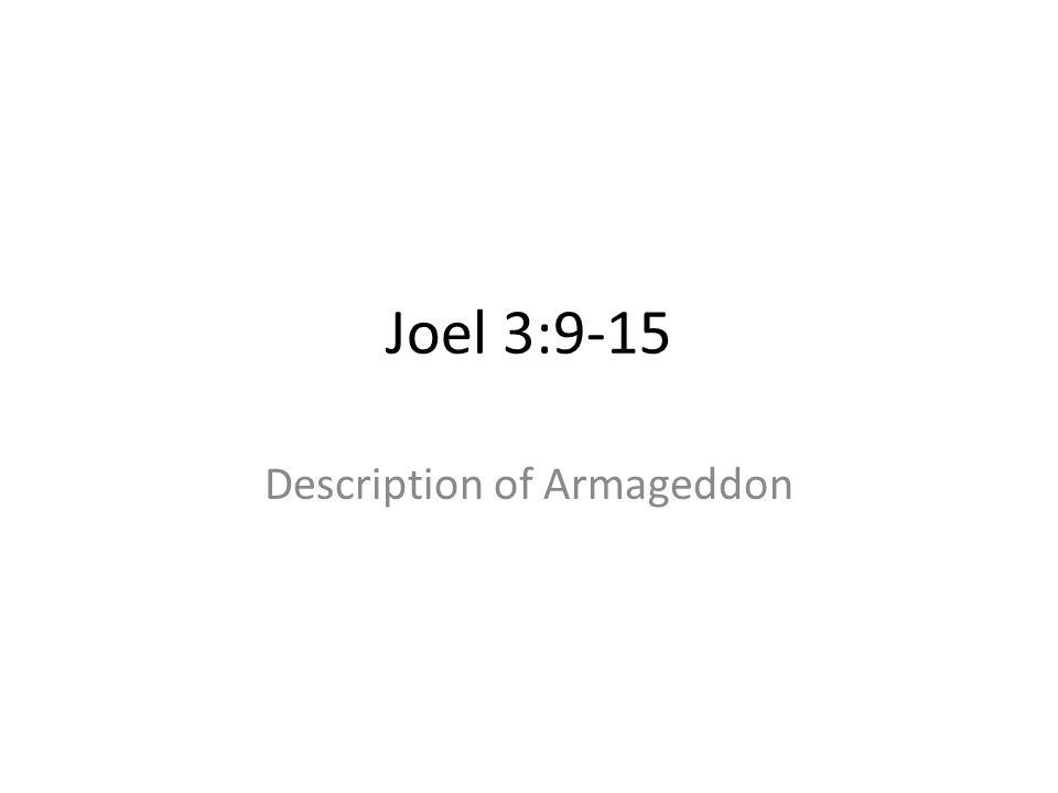 Description of Armageddon