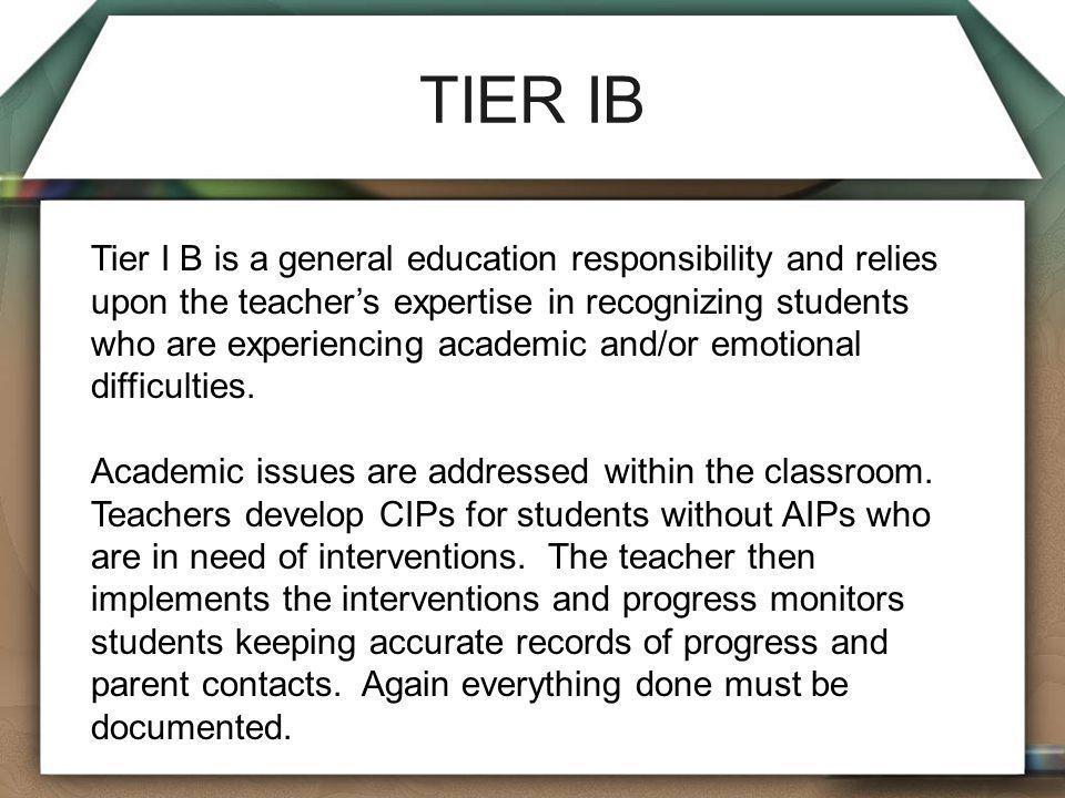 TIER IB