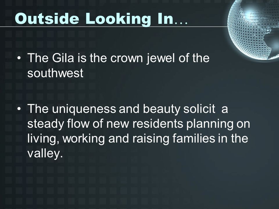 Outside Looking In… The Gila is the crown jewel of the southwest