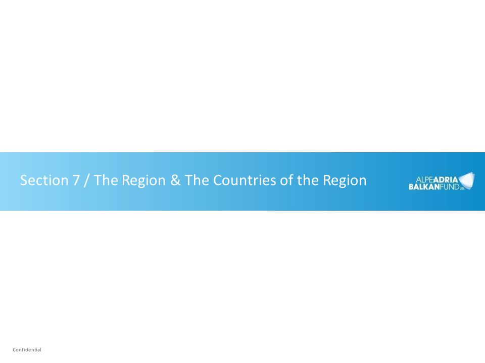 Section 7 / The Region & The Countries of the Region