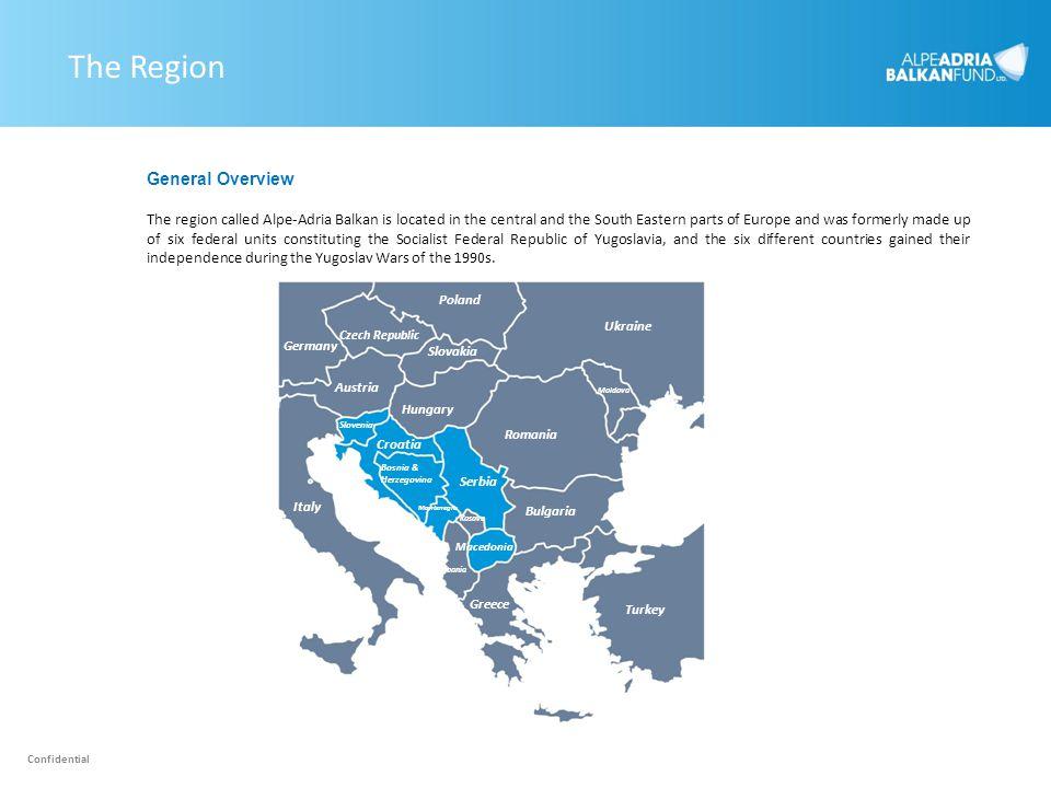 The Region Czech Republic Poland Ukraine Slovakia Turkey