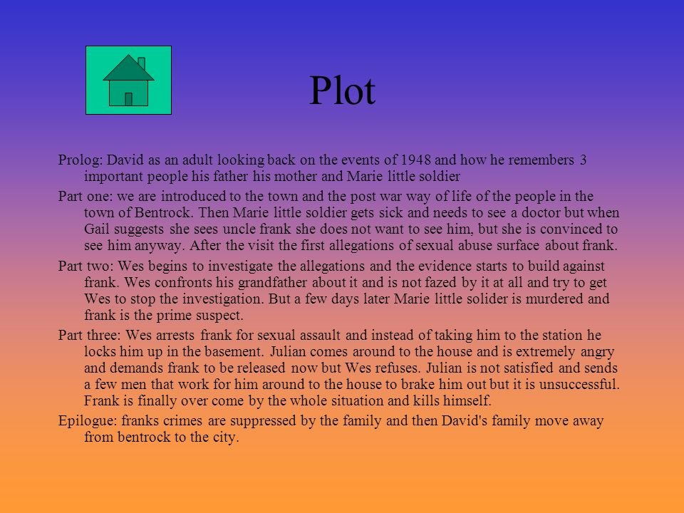 Plot Setting Key characters Themes Key quotes - ppt video ...