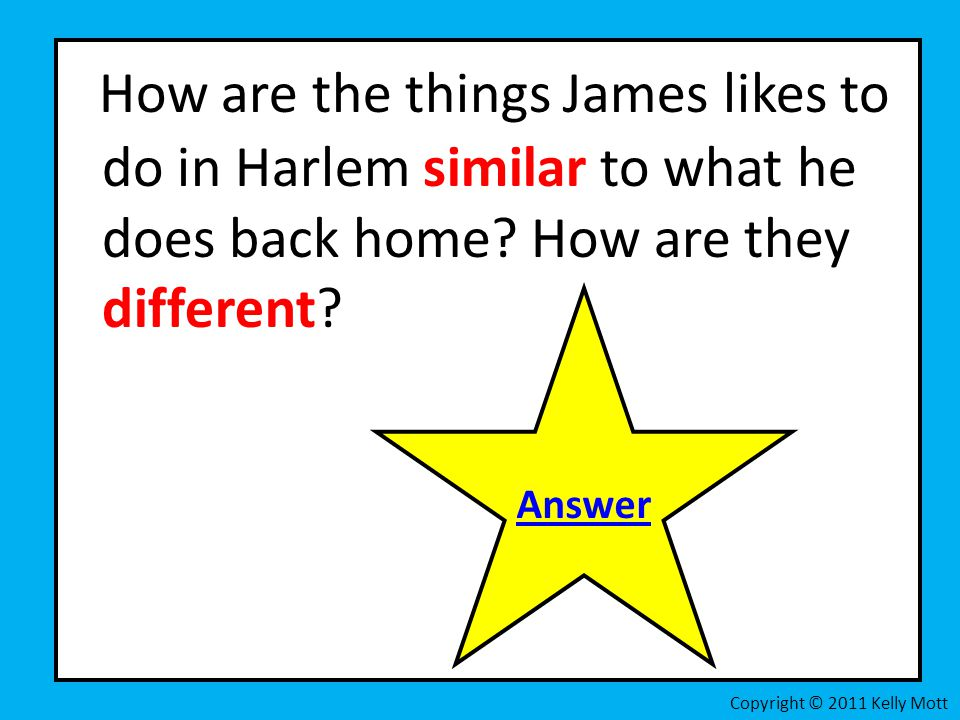 How are the things James likes to do in Harlem similar to what he does back home How are they different